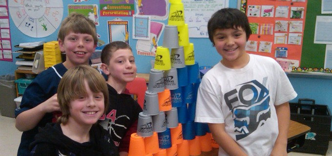Fun w Speed Stacks